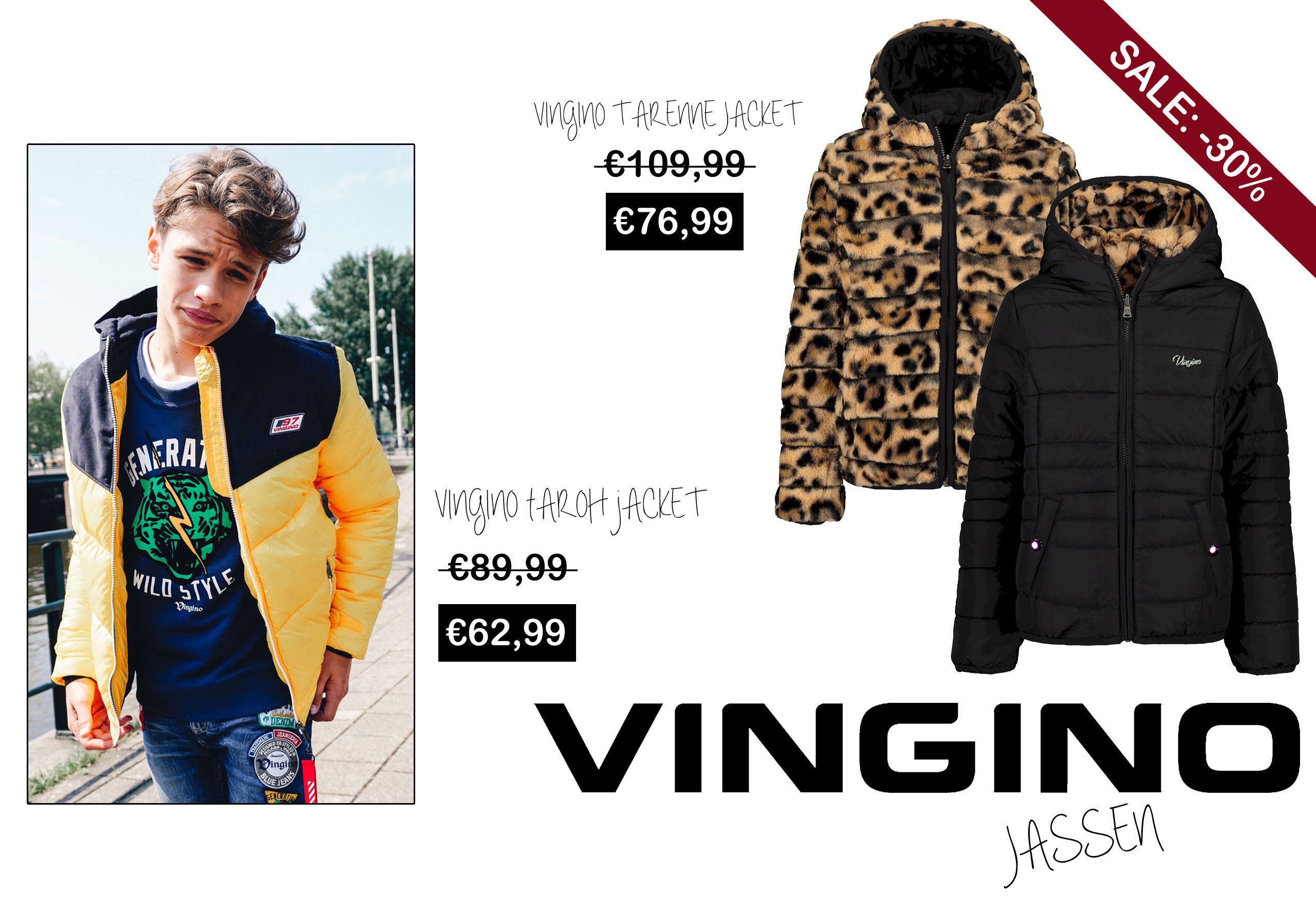 Vingino winterjas sale