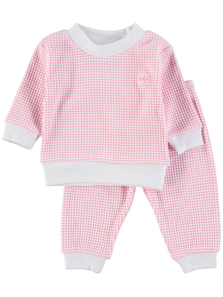 962570c812a Feetje Pyjama wafel Rose