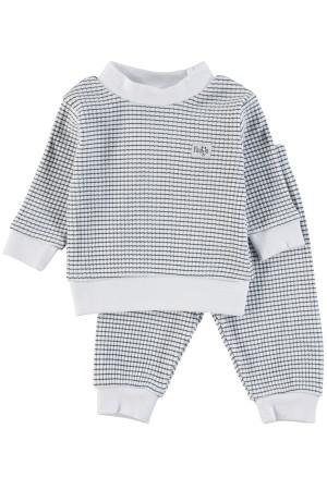 Feetje Pyjama wafel Marine Marine