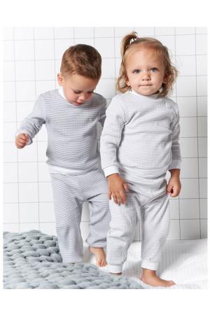 Feetje meisjes pyjama grijs Direct leverbaar uit de webshop van www.humpy.nl/