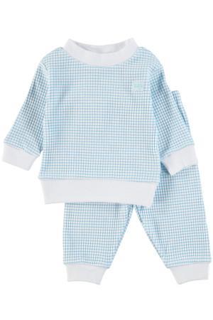 Feetje jongens pyjama blauw Direct leverbaar uit de webshop van www.humpy.nl/