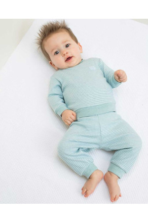 Feetje jongens pyjama groen Direct leverbaar uit de webshop van www.humpy.nl/
